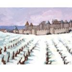 Carcassonne neige