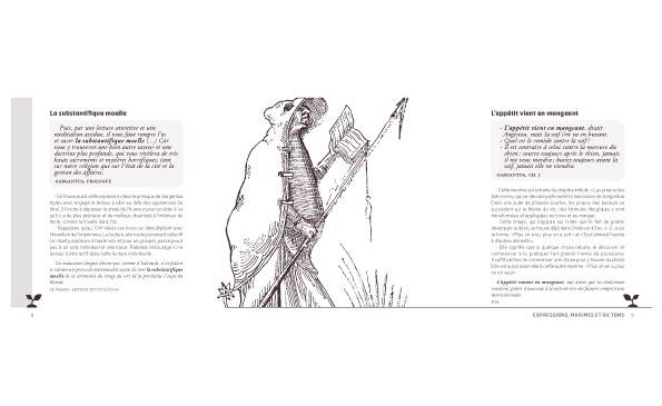 Pour découvrir l'apport considérable de Rabelais à la langue française 14,5 x 21 cm, 90 pages