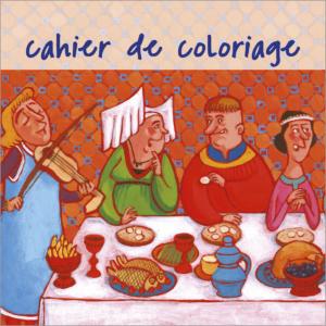 Cahier de coloriage Aude